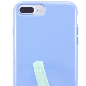 Loopy Case Accessories - iPhone XS Max Periwinkle Loopy Case
